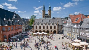 Foto: Marktplatz Goslar / Stefan Schiefer / Goslar Marketing GmbH
