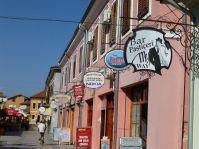 Geschäftsstrasse in Shkodra
