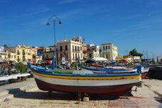 Der Fischfang gehört neben dem Tourismus in Mondello mit zu den Haupteinnahmeqellen.