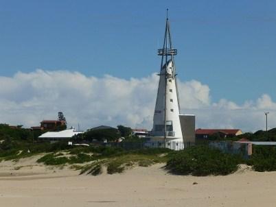 Wahrzeichen von Jeffreys Bay-der abgesägte Leuchtturm