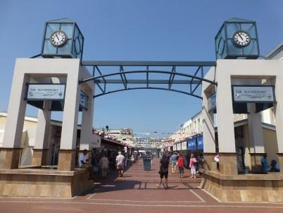 Eingang zur Waterfront in Knysna