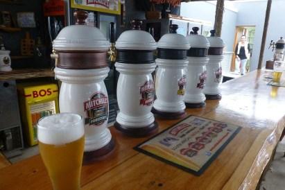 Wir kehren lieber in der Brauerei ein ...
