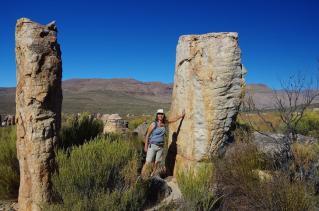der Einstieg zum Aufstieg in die Wolfsberg Cracks