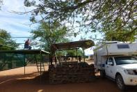 Stellplatz mit Aussicht auf der Betta Campsite