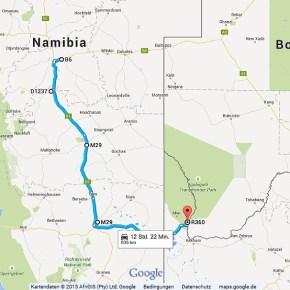 Statistik Namibia, Teil 5 (Südafrika, Botswana)