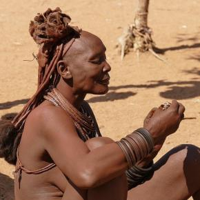 Zu Besuch bei den Himba