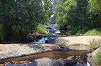 An den Wasserfällen des Zomba-Massivs...