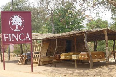 Auch Finca's gibt es am Straßenrand - mehr oder weniger luxuriös?