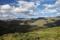 ... und wenig später stehen wir inmitten der beeindruckenden Bergwelt.