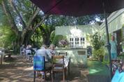 Wesentlich beschaulicher geht es auf Leisure Islands, der zweiten Insel in der Lagune von Knysna zu. In Nadines Coffee Shop gibt es neben einem leckeren Lunch auch viele Dinge des täglichen Bedarfs zu kaufen.
