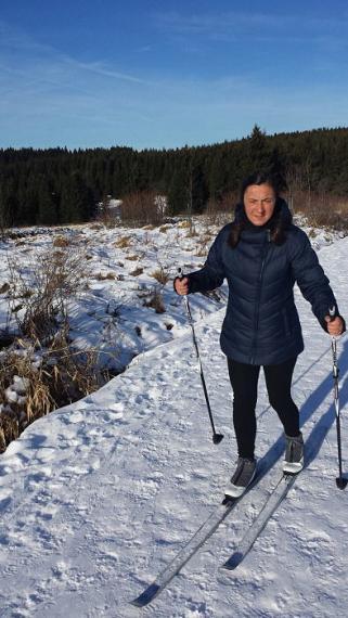 Nach mehreren Jahren Abstinenz: Endlich mal wieder Ski laufen.