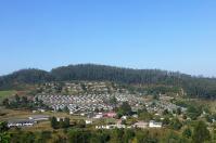 Absolut sehenswert sind die bunt sanierten Häuschen der ehemaligen Minenarbeiter in Bulembu.