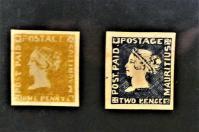 Im Postmuseum sind die berühmten Briefmarken zu bestaunen.