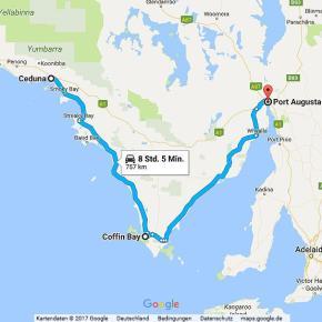 Statistik Australien Teil 4, Ceduna – Port Augusta, Eyre Halbinsel
