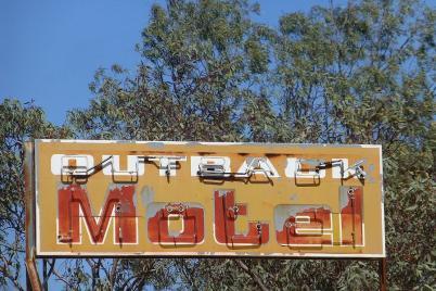 Wir verabschieden uns vorerst aus dem Outback.