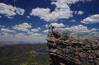 einzigartiger Ausblick vom Pinnacle-Lookout
