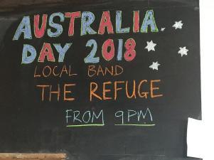 Australian Day 2018 in der Dorfkneipe