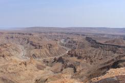 Der Fish River Canyon war jeden einzelnen Kilometer wert.