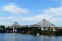 Sieht der Harbour Bridge in Sydney etwas ähnlich: die Story Bridge in Brisbane.