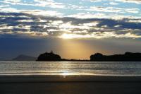 Ein verhinderter Sonnenaufgang an der Hibiscus Coast...