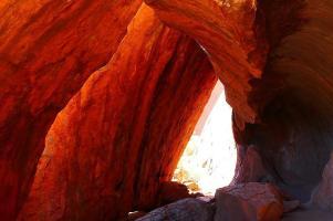 Felshöhle am Uluru