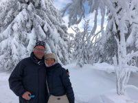eine völlig neue, alte Erfahrung - Schnee!