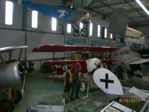 Fokker Dr.I im Luftfahrtmuseum Hannover-Laatzen