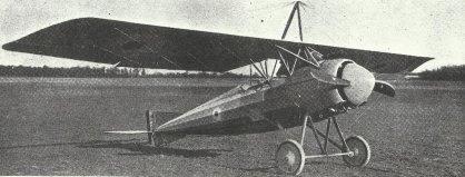 Morane-Saulnier Typ P (Parasol)