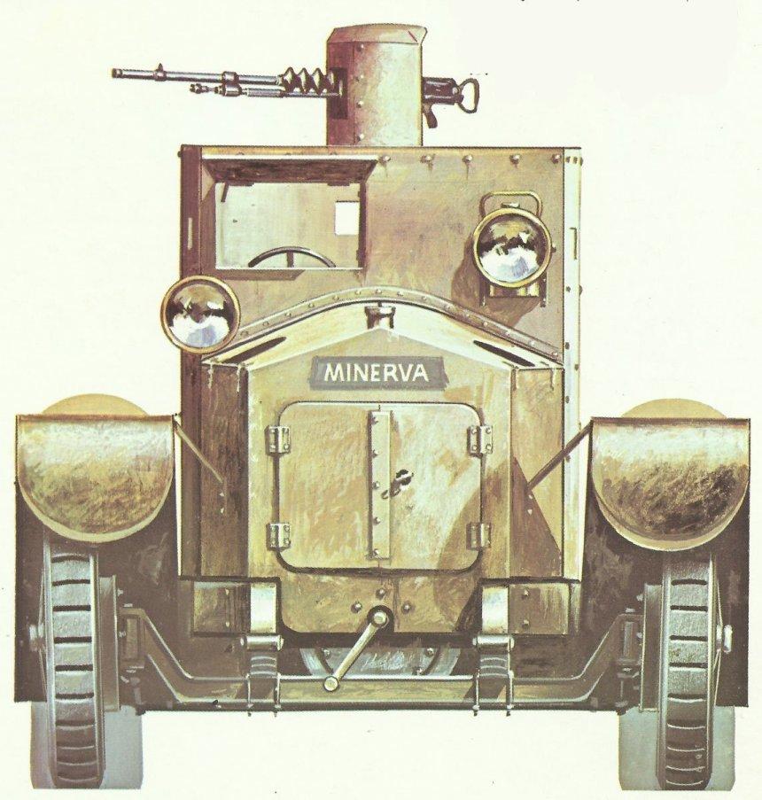 Minerva-Panzerwagen