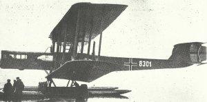 Zeppelin-Wasserflugzeug