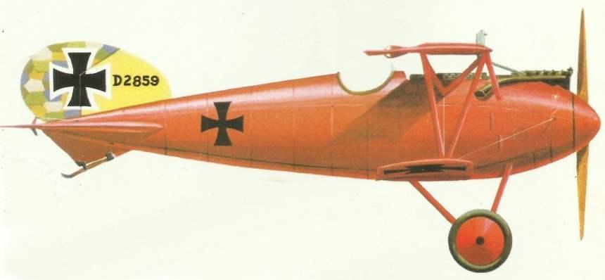 Albatros D.V von Manfred von Richthofen