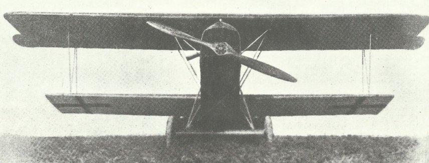 Frontalansicht Fokker D.VII