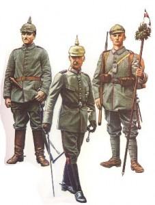Berittener Fahrer der bayerischen Feld-Artillerie (1915) * Prinz Rupprecht von Bayern als Kommandeur der 6.Armee (Westfront, Juni 1918) * Soldat Bayerisches Infanterie- Leib-Regiment (1916