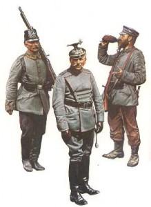 Unteroffizier Landsturmbataillon 68 (Berlin, 1914) * Major Landsturm-Ulanen-Regiment 5 (Belgien, 1916) * Soldat Landsturm-Infanteriebataillon 49 (Polen, 1915)