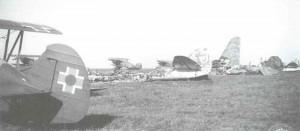 Avia B-534 Jagd-Doppeldecker der slowakischen 12.Staffel