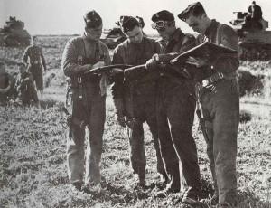 Soldaten der 13/18th Royal Hussars