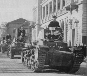 Bulgarische Skoda LT-35 Panzer
