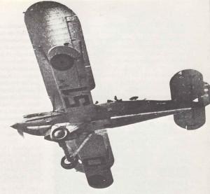Fairey Fox VI der L'Aeronautique Militaire Belge.