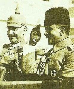 Der Kaiser und Enver Pascha