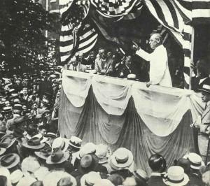 US Präsident Wilson Unabhängigkeitstag 1914