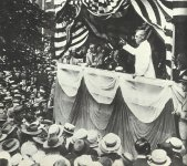 Präsident Woodrow Wilson