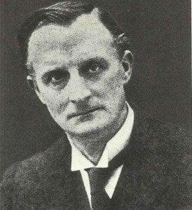 Britischer Außenminister Sir Edward Grey