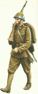 Uniform eines Unterfeldwebel der slowakischen Schnellen Division