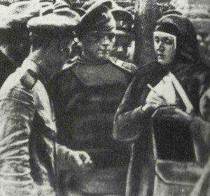 Frau des russischen General Samsonow
