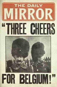 Daily Mirror: Three Cheers for Belgium