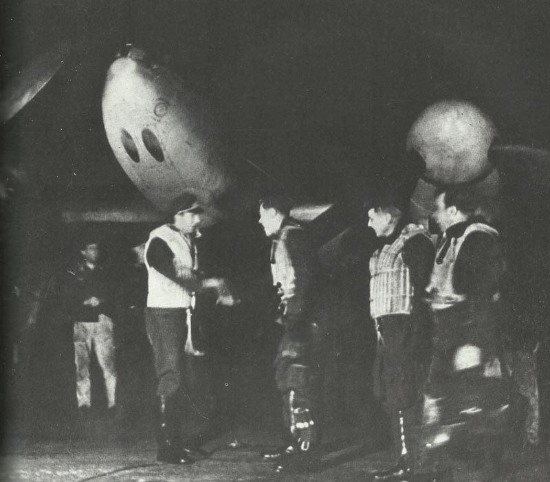 Bf 110 Nachtjäger nach Einsatz