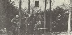 Deutsche Truppen in Arnheim