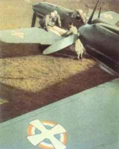 Bf 109 E der jugoslawischen Luftwaffe