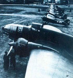 Einer der ersten PLZ P37 Bomber