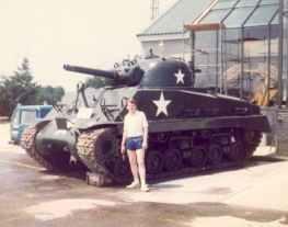 M4 Sherman Panzer im RAC Tank Museum